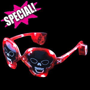 LED Skull Sunglasses