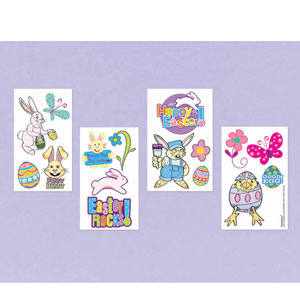 Easter Tattoo Sheets