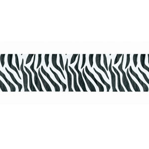 Zebra Stripe Crepe Paper - 81ft