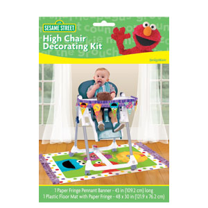 Sesame Street 1st Birthday High Chair Kit