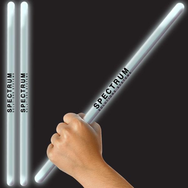 16 Inch Glow Stick - White