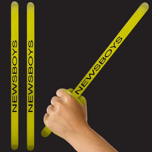 14 Inch Glow Sticks - Yellow