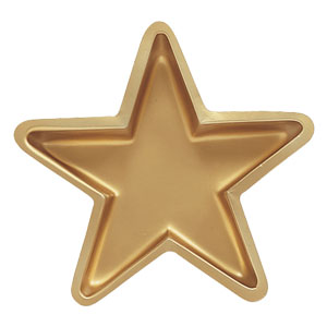 Gold Star Tray