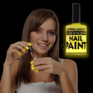 Glow in the Dark Nail Polish - Yellow
