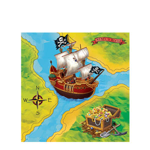 Buried Treasure Luncheon Napkins- 16ct
