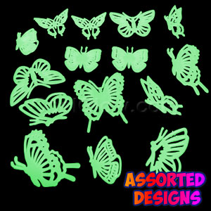Glow Stickers - Butterflies