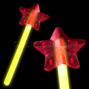 Glow Star Wand - Yellow