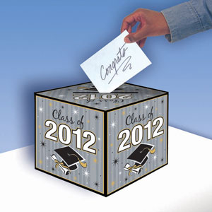 Grad 2012 Greeting Card Holder Box