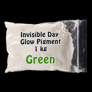 Glominex Invisible Day Glow Pigment 1 kg - Green