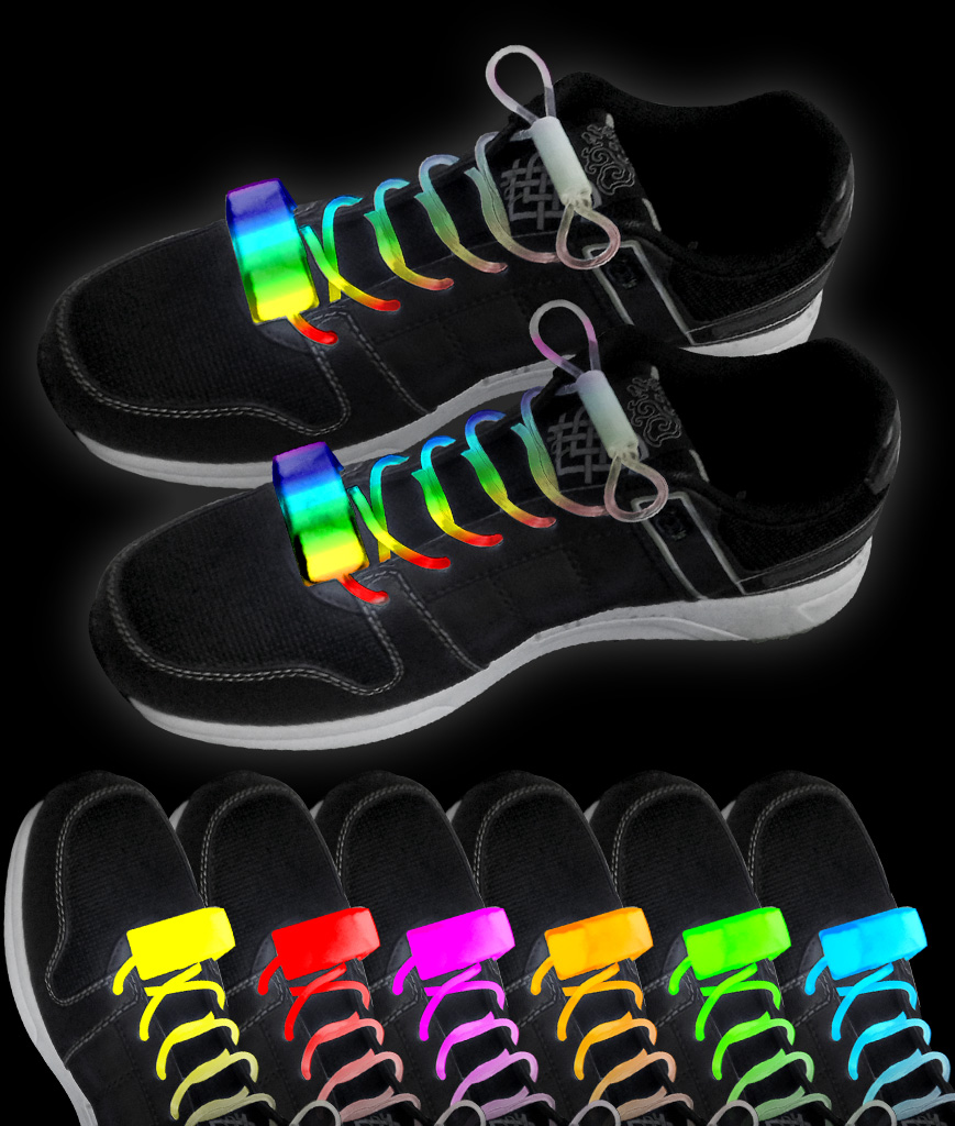 LED Shoe Laces - Assorted