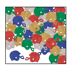 Football Helmets Confetti- 1oz