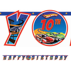 Hot Wheels Add-An-Age Letter Banner- 10ft
