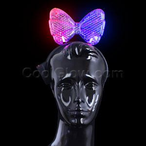 Fun Central X863 LED Light Up Bow Headband