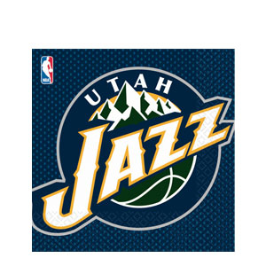 Utah Jazz Luncheon Napkins