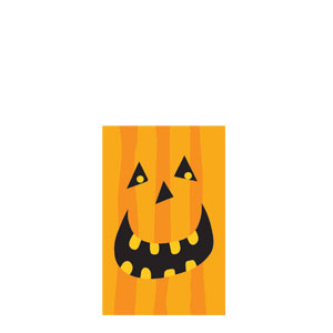 Gruesome Group Pumpkin Treat Bags- 40ct