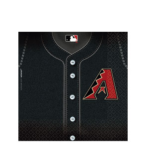 Arizona Diamondbacks Luncheon Napkins- 36ct