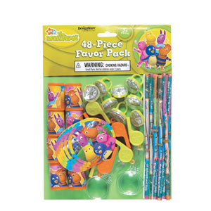 Backyardigans Favor Pack- 48pc