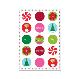 Holiday Buzz Postcard Invites - 20ct