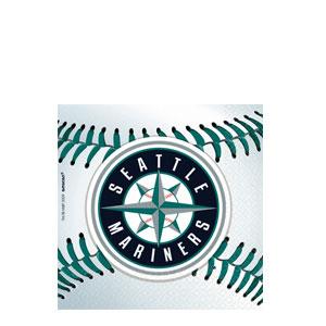 Seattle Mariners Beverage Napkins- 36ct
