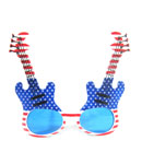 Patriotic Guitar Eye Glasses