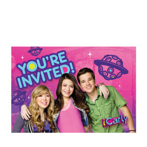 iCarly Invitations- 8ct