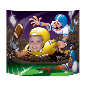 Football Photo Prop- 3ft