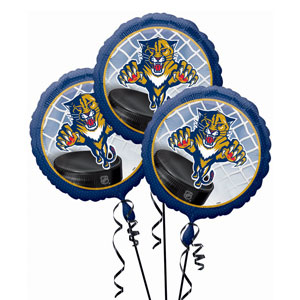 Florida Panthers 3 Pack Balloons- 18in