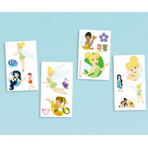 Disney Faries Tattoo Favors- 16ct