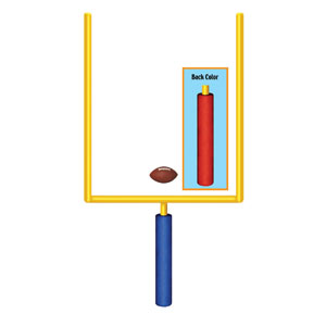 Jointed Goal Post- 5ft