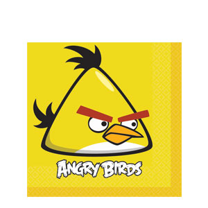 Angry Birds Luncheon Napkins- 16ct