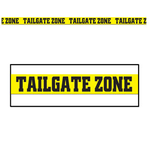 Tailgate Zone Party Tape- 20ft