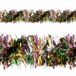 Mardi Gras Tinsel - 9ft