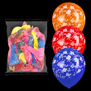 Assorted Styles Latex Balloons