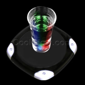 LED Drink Coaster - Multicolor