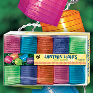 Square Lantern Light Set- 9ft