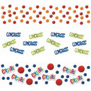 Congrats Confetti- Assorted