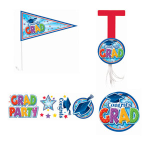 Grad Car Decorating Kit- 12pc