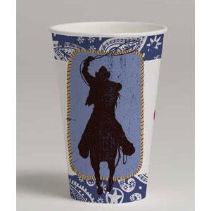 Western Lasso 12 oz. Cups- 8ct