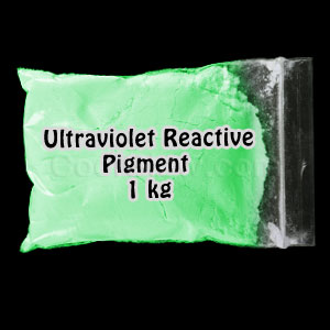 Glominex Ultraviolet Reactive Pigment 1 kg - Green