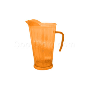 Neon Orange 60 Ounce Pitcher