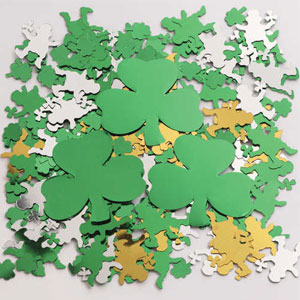 Shamrocks Oversized Confetti