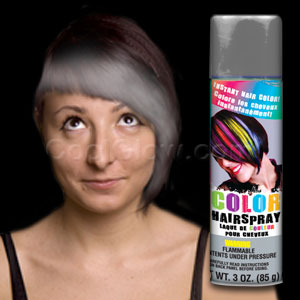 Silver Color Hairspray- 3oz