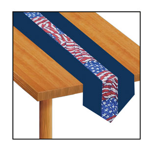 Stars and Stripes Table Runner - 6ft