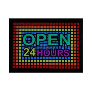 LED Sound Activated Patch - Open 24 Hours